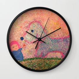 let me go with you Wall Clock