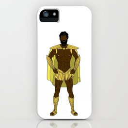 Gladiator Warrior Strength iPhone Case
