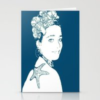 marianna Stationery Cards featuring Hermosa Marianna by Alef