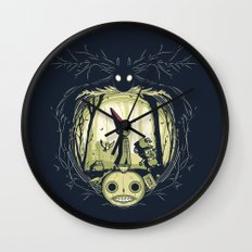 The Way Home Wall Clock