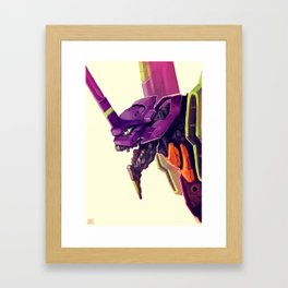 Eva 01 Framed Art Print