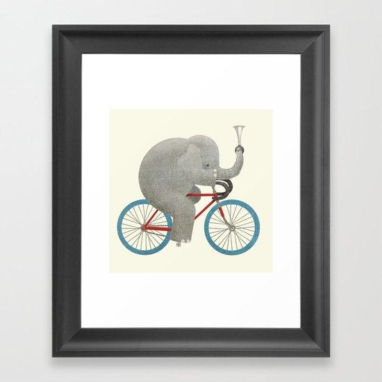 Ride (colour option) Framed Art Print