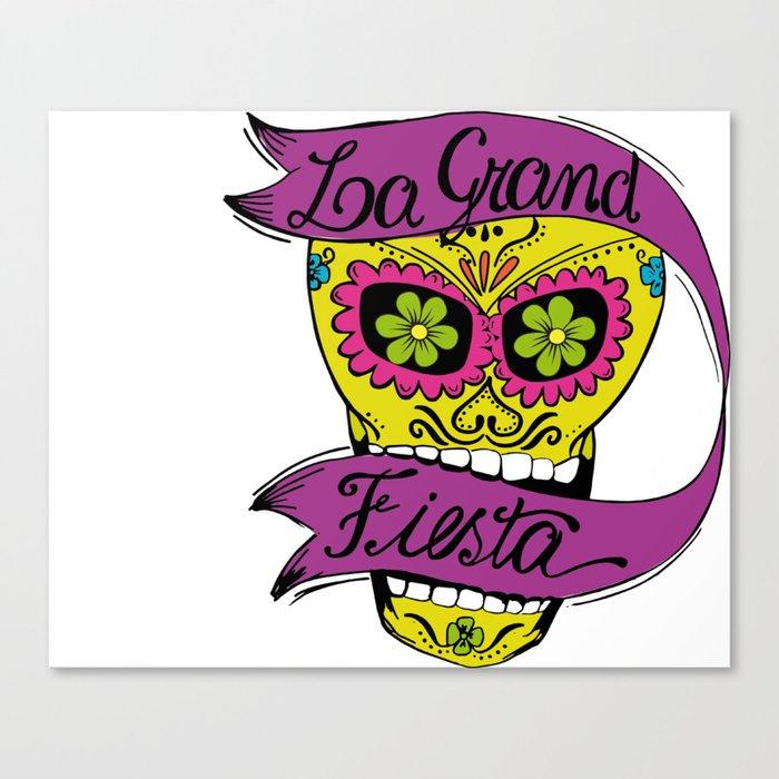 La Grand Fiesta Canvas Print