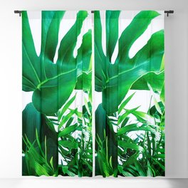 Tropical Display Blackout Curtain