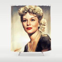 Eva Gabor, Vintage Actress Shower Curtain
