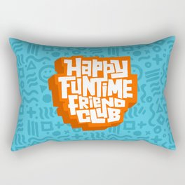 happy funtime friend club Rectangular Pillow