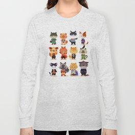 Meow Hero Acatdemia Long Sleeve T-shirt
