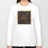fire emblem Long Sleeve T-shirts featuring Emblem by Heidi Fairwood