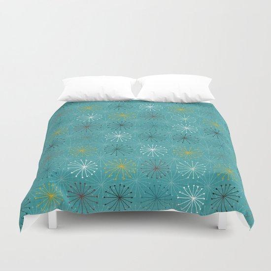 seedheads blue Duvet Cover