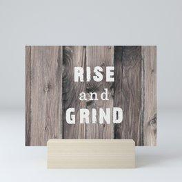 Rustic Motivation Mini Art Print