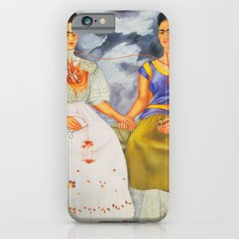 Two fridas art iPhone Case