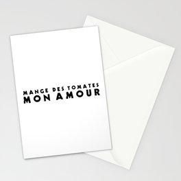MANGE DES TOMATES Stationery Cards