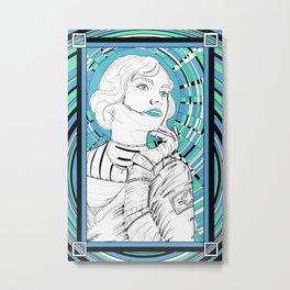 Cosmo girl cool Metal Print