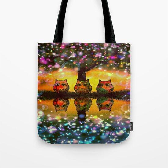 gorgeous owl-267 Tote Bag