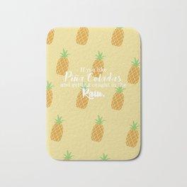 Piña Colada Song Bath Mat