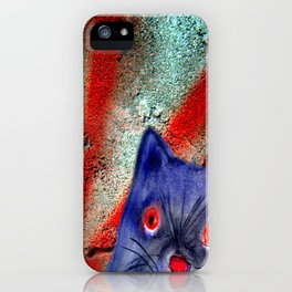 Gordon The Graffiti Cat iPhone Case