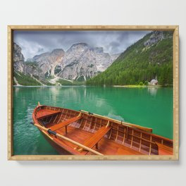Lago di Braies Serving Tray