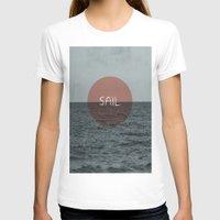 sail T-shirts featuring Sail by Carla Talabá