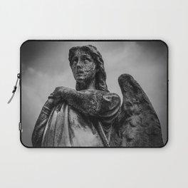 Grave yard angel | Cemetary statue | Cemetary angel | Stone angel | Necromantic Laptop Sleeve