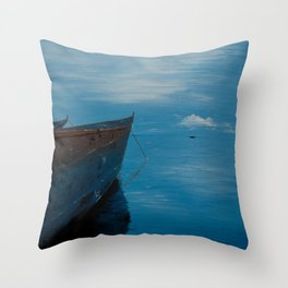 African Waters Throw Pillow