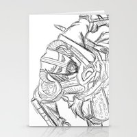 skyrim Stationery Cards featuring Dragonborn (Skyrim) by  Steve Wade ( Swade)