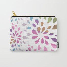Colourful drops Carry-All Pouch