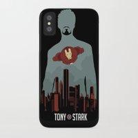 tony stark iPhone & iPod Cases featuring Tony Stark by offbeatzombie