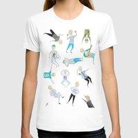 niall T-shirts featuring Niall Pattern by jerrh