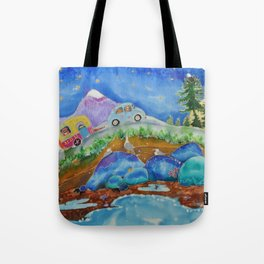 Island Roads Tote Bag