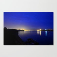 Looking toward the confluence at daybreak...  Canvas Print