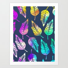 Dream Leaves One Art Print