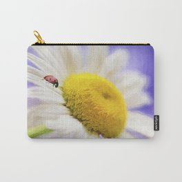 She Loves me She Loves me Not Carry-All Pouch