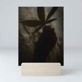Weed Shadow Mini Art Print