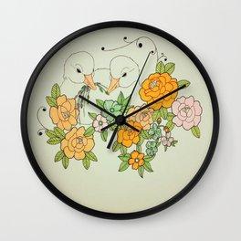 How We Got Home Wall Clock