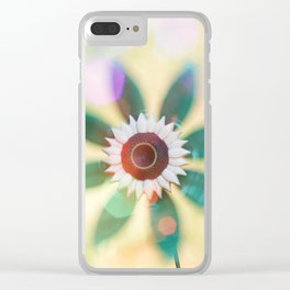 Pinwheel Clear iPhone Case