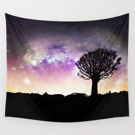 African galaxy skyline - Landscape Photography #Society6 Wall Tapestry