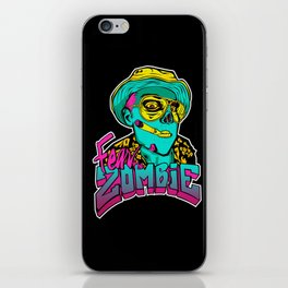 Fear the Zombie iPhone Skin