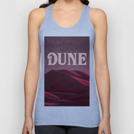 A Night on Arrakis Unisex Tank Top