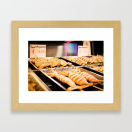 Night Market Squid Framed Art Print