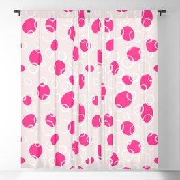 16 Pink Bubbles Blackout Curtain
