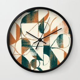 Coexistance Wall Clock