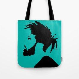 blue green Tote Bag