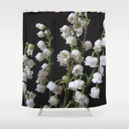 lily of the valley 5 Shower Curtain