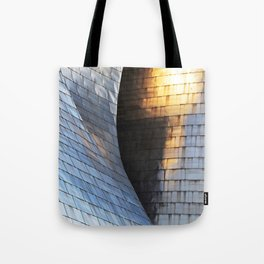 Scales of light Tote Bag