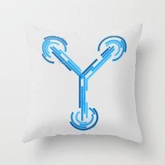 Fluxing Throw Pillow
