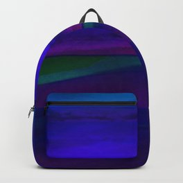 Seascape At Night Backpack