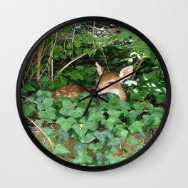 Ivy Fawn Wall Clock