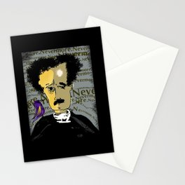 Nevermore Poe Stationery Cards