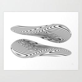 Twin Beans Art Print