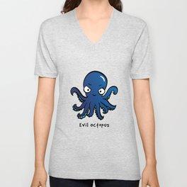 Evil Octopus Unisex V-Neck